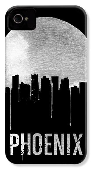 Phoenix Skyline Black IPhone 4 / 4s Case by Naxart Studio