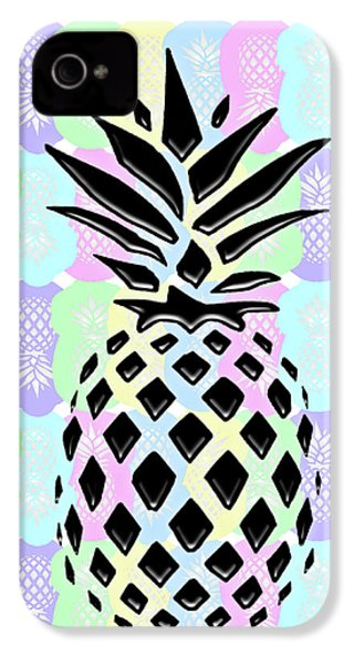 Pineapple Collage IPhone 4 Case
