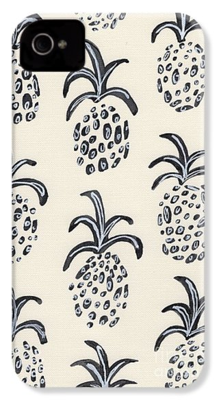 Pineapple Print IPhone 4 / 4s Case by Anne Seay