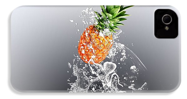 Pineapple Splash IPhone 4 / 4s Case by Marvin Blaine