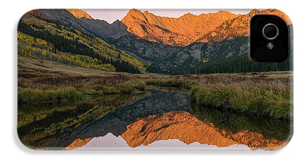 IPhone 4 Case featuring the photograph Piney River Panorama by Aaron Spong