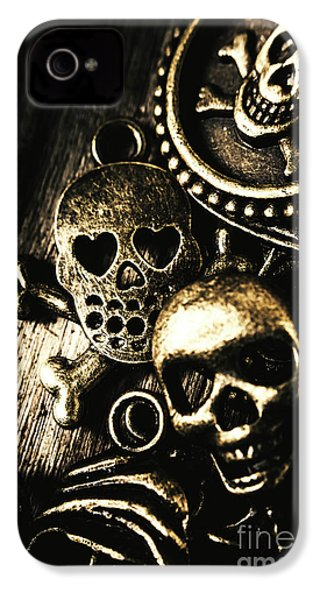 IPhone 4 Case featuring the photograph Pirate Treasure by Jorgo Photography - Wall Art Gallery