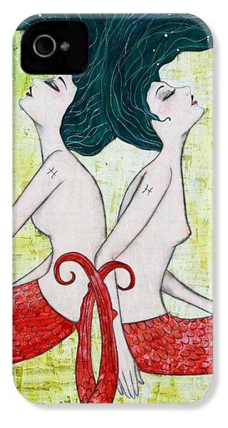 Pisces Mermaids IPhone 4 Case