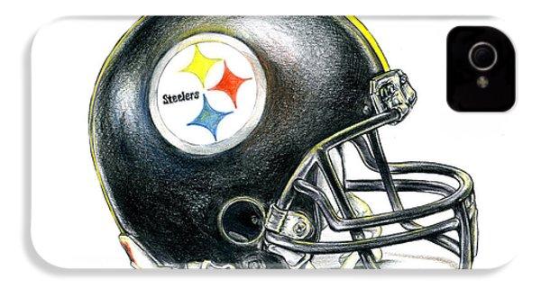 Pittsburgh Steelers Helmet IPhone 4 Case