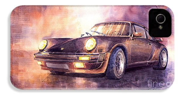Porsche 911 Turbo 1979 IPhone 4 Case by Yuriy  Shevchuk