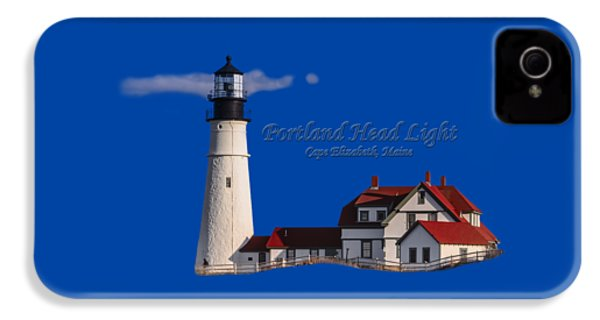 Portland Head Light No. 43 IPhone 4 Case by Mark Myhaver
