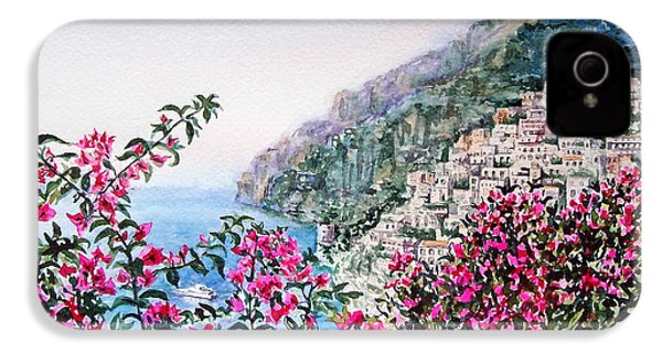 Positano Italy IPhone 4 Case