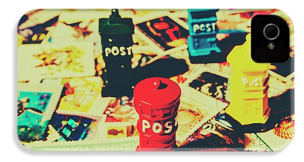 IPhone 4 Case featuring the photograph Postage Pop Art by Jorgo Photography - Wall Art Gallery