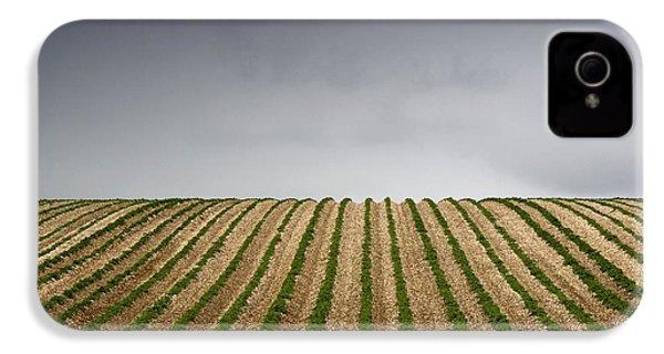 Potato Field IPhone 4 / 4s Case by John Short