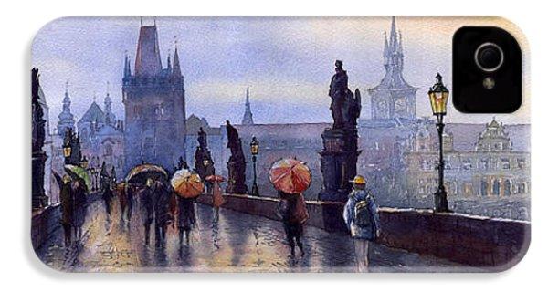 Prague Charles Bridge IPhone 4 Case by Yuriy  Shevchuk