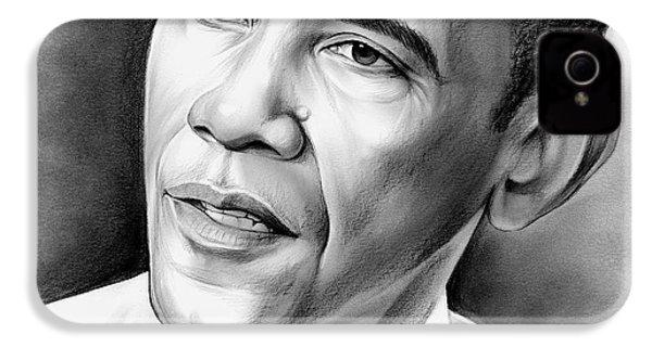 President Barack Obama IPhone 4 Case by Greg Joens