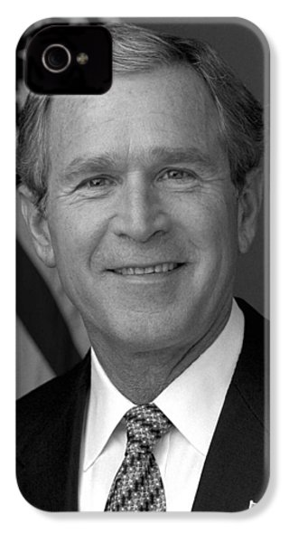 President George W. Bush IPhone 4 Case by War Is Hell Store