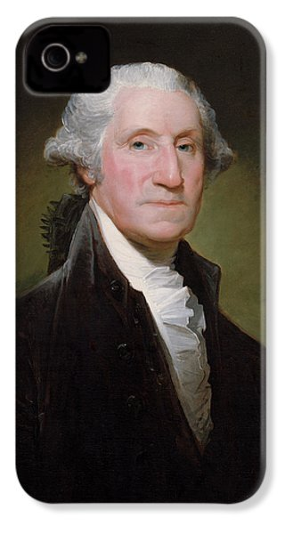 President George Washington IPhone 4 Case by War Is Hell Store