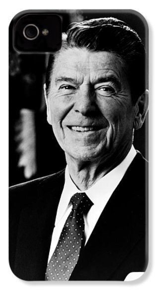 President Ronald Reagan IPhone 4 Case by International  Images
