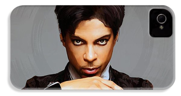 Prince IPhone 4 Case by Paul Tagliamonte
