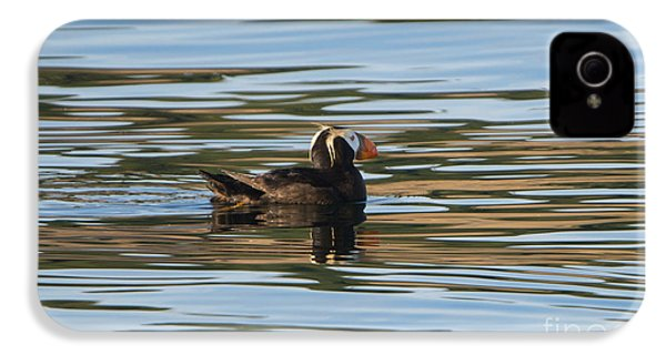 Puffin Reflected IPhone 4 Case by Mike Dawson