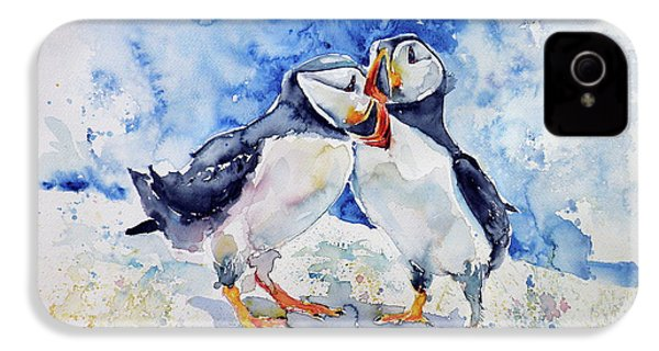 Puffins IPhone 4 Case
