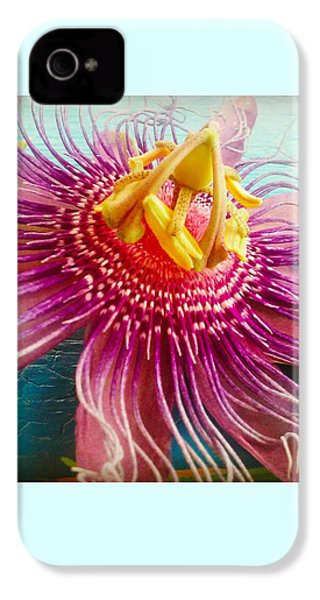 Purple Tropic IPhone 4 Case by Alicia Berent