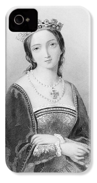 Queen Mary I, Aka Mary Tudor, Byname IPhone 4 Case by Vintage Design Pics