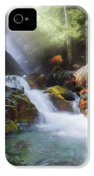 IPhone 4 Case featuring the photograph Race Brook Falls 2017 by Bill Wakeley
