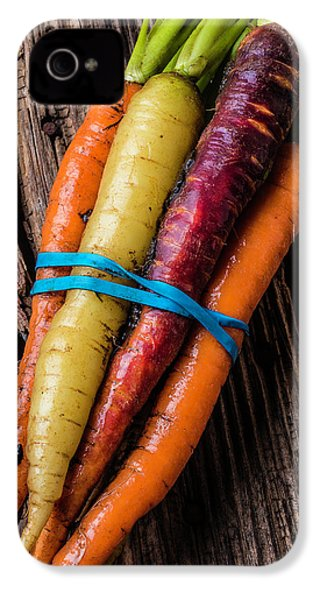 Rainbow Carrots IPhone 4 / 4s Case by Garry Gay