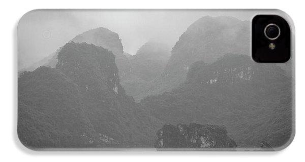 IPhone 4 Case featuring the photograph Rainy Ha Long Bay, Ha Long, 2014 by Hitendra SINKAR