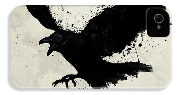 Raven IPhone 4 Case by Nicklas Gustafsson