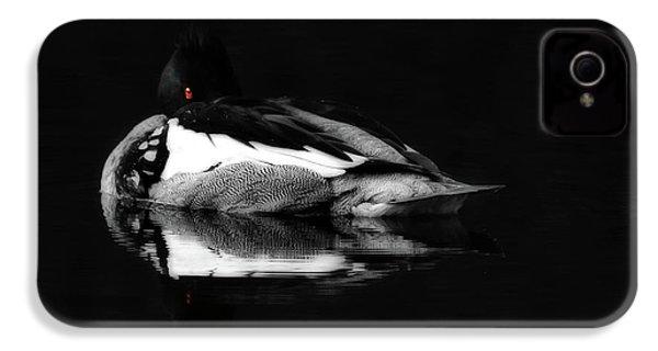 Red Eye IPhone 4 / 4s Case by Lori Deiter