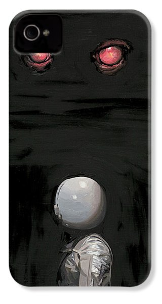 Red Eyes IPhone 4 Case by Scott Listfield