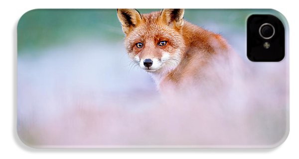 Red Fox In A Mysterious World IPhone 4 Case