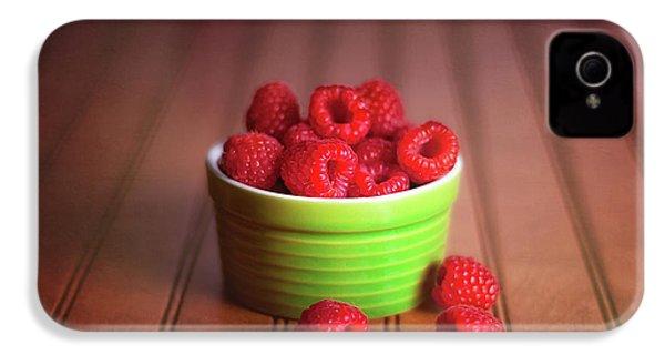 Red Raspberries Still Life IPhone 4 / 4s Case by Tom Mc Nemar