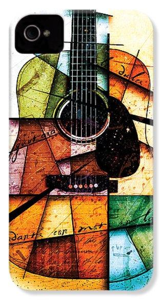Resonancia En Colores IPhone 4 Case by Gary Bodnar