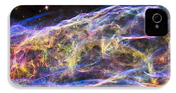 IPhone 4 Case featuring the photograph Revisiting The Veil Nebula by Adam Romanowicz