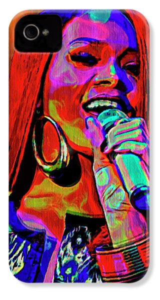 Rihanna  IPhone 4 Case by  Fli Art