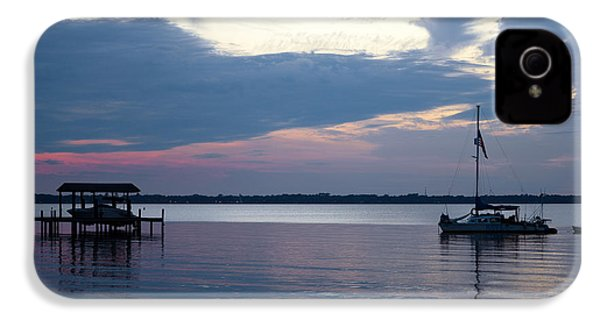 IPhone 4 Case featuring the photograph River Sunset by Anthony Baatz