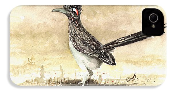Roadrunner IPhone 4 Case by Sam Sidders