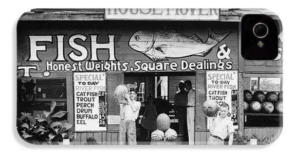 Roadside Stand Near Birmingham, Alabama IPhone 4 / 4s Case by Walker Evans