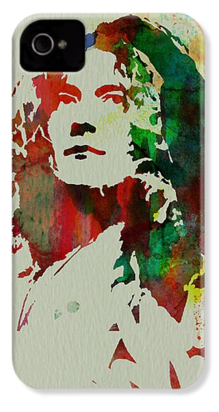 Robert Plant IPhone 4 Case by Naxart Studio