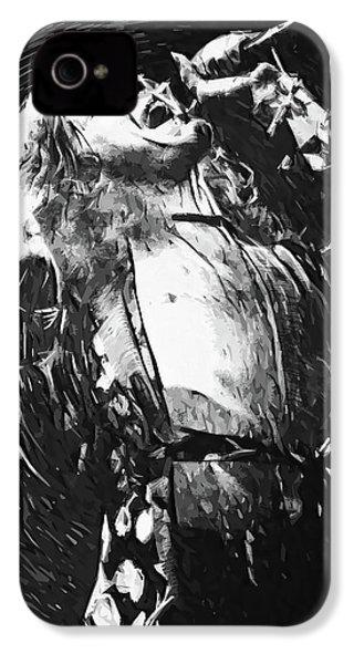 Robert Plant IPhone 4 Case by Taylan Apukovska