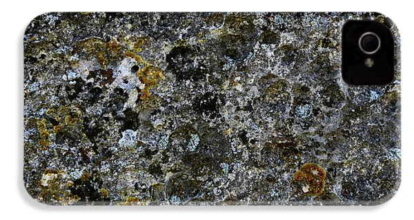 Rock Lichen Surface IPhone 4 Case