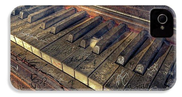 Rock Piano Fantasy IPhone 4 Case by Mal Bray