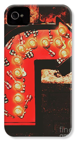 IPhone 4 Case featuring the photograph Rock Through This Way by Jorgo Photography - Wall Art Gallery