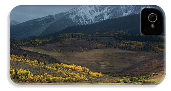 IPhone 4 Case featuring the photograph Rocky Mountain Horses by Aaron Spong