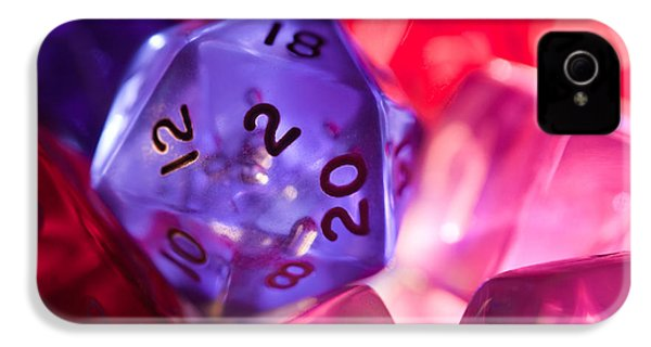 Role-playing D20 Dice IPhone 4 / 4s Case by Marc Garrido