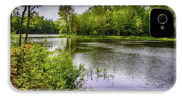 IPhone 4 Case featuring the photograph Round The Bend In Oil 36 by Mark Myhaver