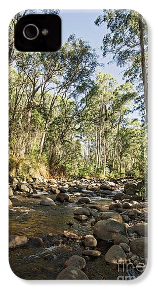 IPhone 4 Case featuring the photograph Rubicon River by Linda Lees