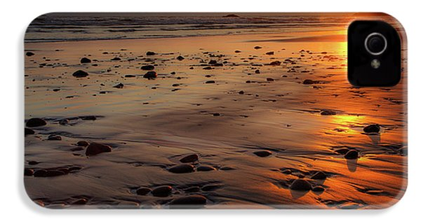 Ruby Beach Sunset IPhone 4 Case by David Chandler