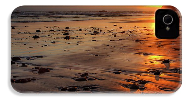 IPhone 4 Case featuring the photograph Ruby Beach Sunset by David Chandler