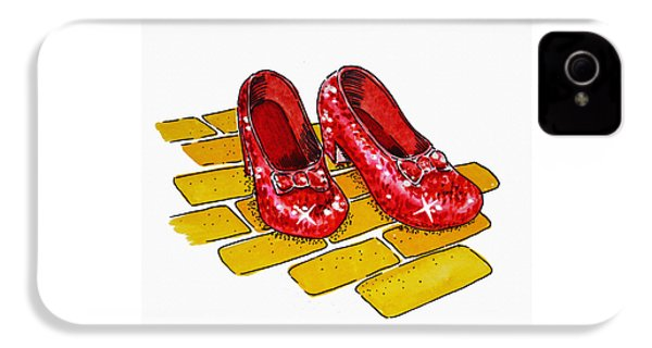 Ruby Slippers The Wizard Of Oz  IPhone 4 Case