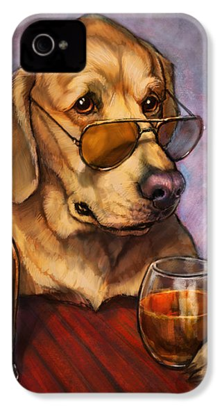 Ruff Whiskey IPhone 4 Case by Sean ODaniels